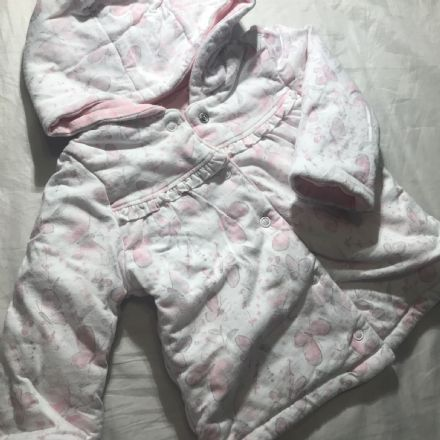 0-3 Month Padded Butterfly Coat.